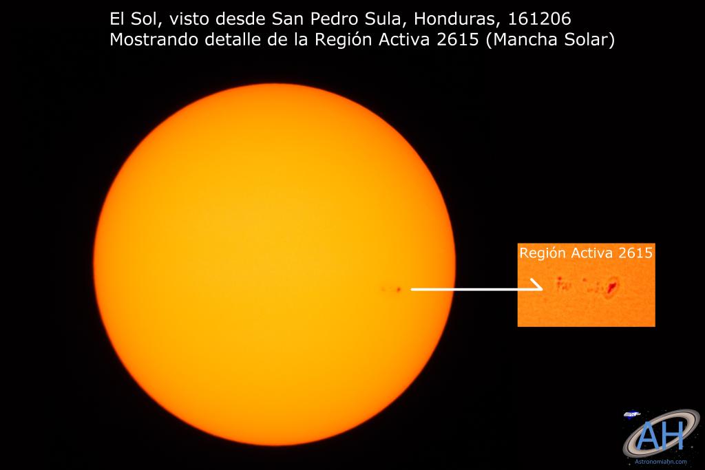Sol y AR2615